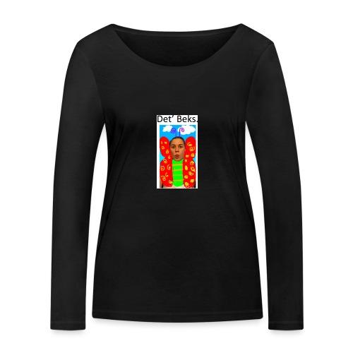 Det' Beks. - Økologisk Stanley & Stella langærmet T-shirt til damer