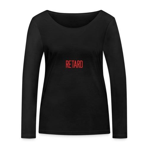 Retard Klær - Økologisk langermet T-skjorte for kvinner fra Stanley & Stella