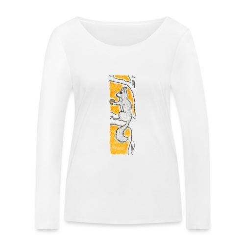 scoiattolo_alma_2015 - Maglietta a manica lunga ecologica da donna di Stanley & Stella