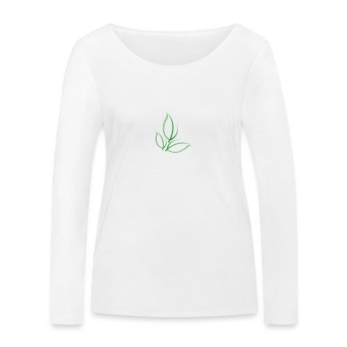 Sustained Sweatshirt Navy - Økologisk Stanley & Stella langærmet T-shirt til damer