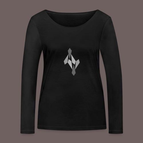 GBIGBO zjebeezjeboo - Rock - Ange 69 V - T-shirt manches longues bio Stanley & Stella Femme