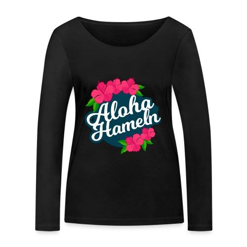 Aloha Hameln | Hawaii SunShine | - Frauen Bio-Langarmshirt von Stanley & Stella