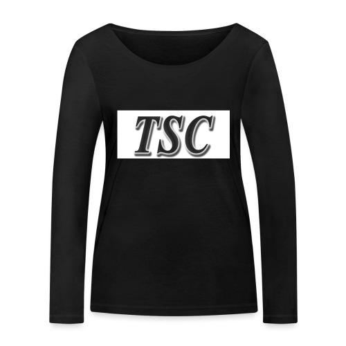 TSC Black Text - Women's Organic Longsleeve Shirt by Stanley & Stella