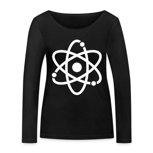 Atommodell - Frauen Bio-Langarmshirt von Stanley & Stella