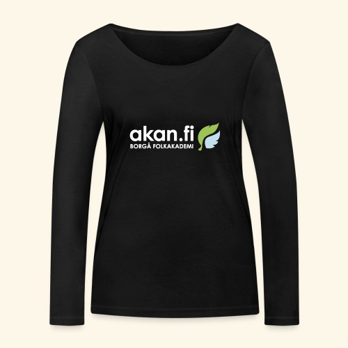 Akan White - Ekologisk långärmad T-shirt dam från Stanley & Stella