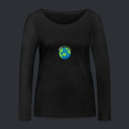 Slippy's Dream World Small - Women's Organic Longsleeve Shirt by Stanley & Stella