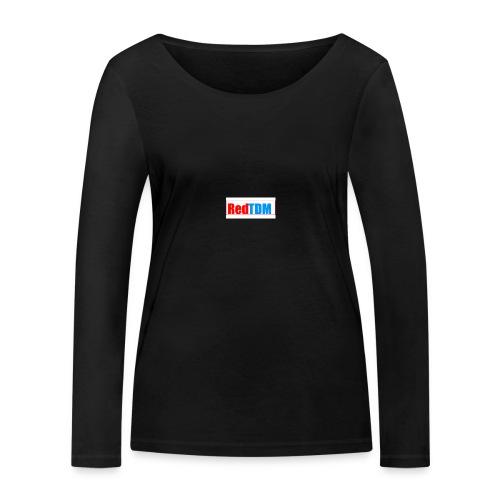 RedRed TDMBlue - Women's Organic Longsleeve Shirt by Stanley & Stella