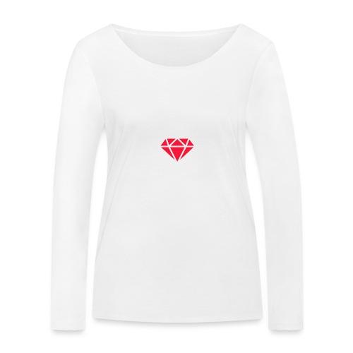 Logomakr_29f0r5 - Women's Organic Longsleeve Shirt by Stanley & Stella