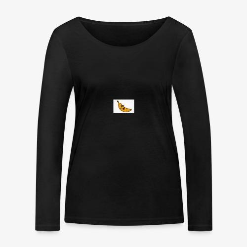 Bananana splidt - Økologisk Stanley & Stella langærmet T-shirt til damer
