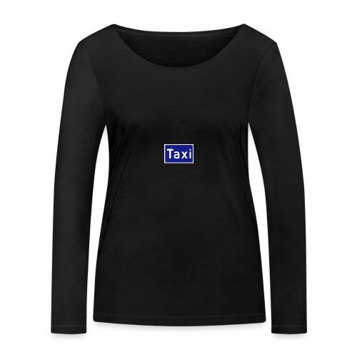 Taxi - Økologisk langermet T-skjorte for kvinner fra Stanley & Stella