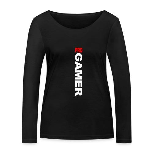 Pro Gamer (weiss) - Frauen Bio-Langarmshirt von Stanley & Stella