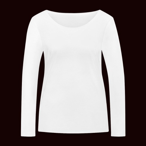 mechant_logo_white - T-shirt manches longues bio Stanley & Stella Femme