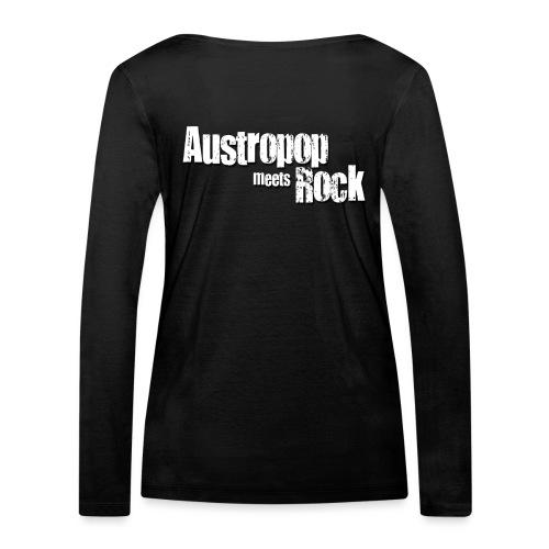 Austropop meets Rock classic back - Frauen Bio-Langarmshirt von Stanley & Stella