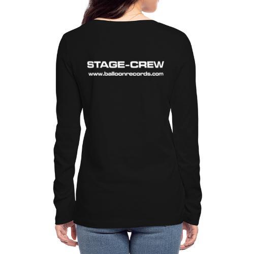 Stage-Crew - Frauen Bio-Langarmshirt von Stanley & Stella