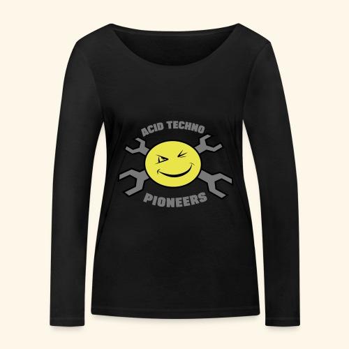 ACID TECHNO PIONEERS - SILVER EDITION - Women's Organic Longsleeve Shirt by Stanley & Stella