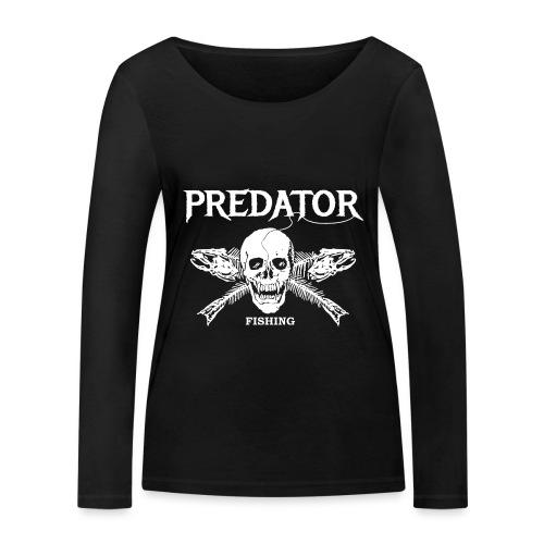Predator Fishing T-Shirt - Frauen Bio-Langarmshirt von Stanley & Stella