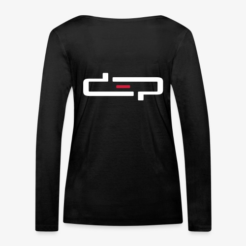 deplogo1neg red - Økologisk langermet T-skjorte for kvinner fra Stanley & Stella