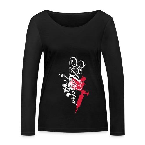 addicted - Frauen Bio-Langarmshirt von Stanley & Stella