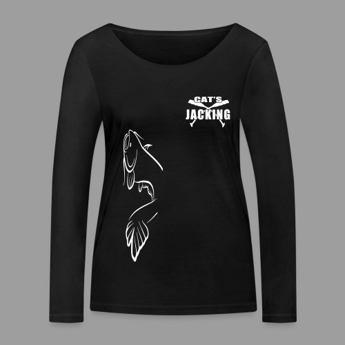 Cat's Jacking - T-shirt manches longues bio Stanley & Stella Femme