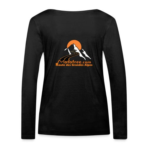 logo motofree orange - T-shirt manches longues bio Stanley & Stella Femme