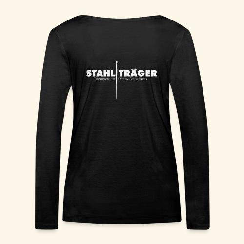 Stahlträger - Frauen Bio-Langarmshirt von Stanley & Stella