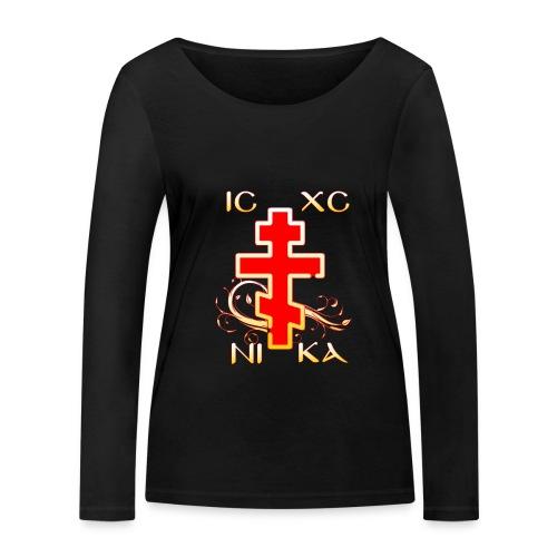 IC-XC-NI-KA - Frauen Bio-Langarmshirt von Stanley & Stella