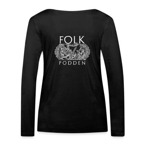 Folkpodden - Black Collection - Ekologisk långärmad T-shirt dam från Stanley & Stella