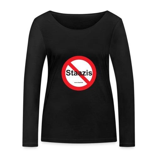 Staazis Verboten - Frauen Bio-Langarmshirt von Stanley & Stella