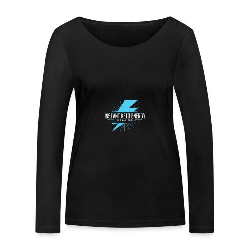 instantketoenergy - Frauen Bio-Langarmshirt von Stanley & Stella