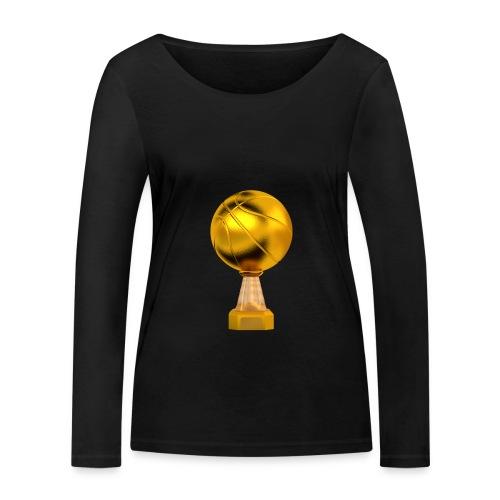 Basketball Golden Trophy - T-shirt manches longues bio Stanley & Stella Femme