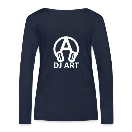 DJ Art (donkere pull-kleuren) - Vrouwen bio shirt met lange mouwen van Stanley & Stella