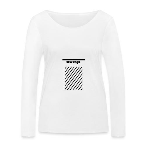 Cowonge - Frauen - Frauen Bio-Langarmshirt von Stanley & Stella