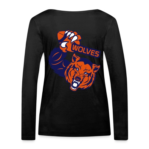 Wolves Rugby - T-shirt manches longues bio Stanley & Stella Femme
