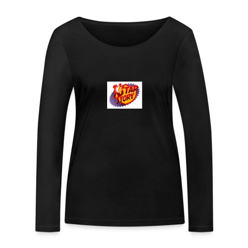 xstarstoryok - T-shirt manches longues bio Stanley & Stella Femme