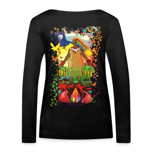 Mother Earth Creating - Vrouwen bio shirt met lange mouwen van Stanley & Stella