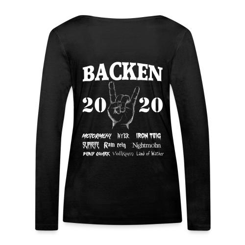 Backen 2020 | Lustiges Backen mit den größten - Frauen Bio-Langarmshirt von Stanley & Stella