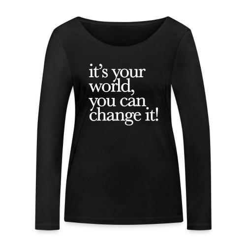 (yourworld) - Frauen Bio-Langarmshirt von Stanley & Stella