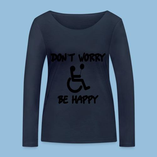 dontworry - Vrouwen bio shirt met lange mouwen van Stanley & Stella