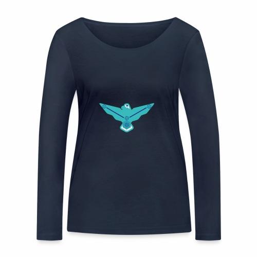 the nordic eagle merch - Økologisk langermet T-skjorte for kvinner fra Stanley & Stella