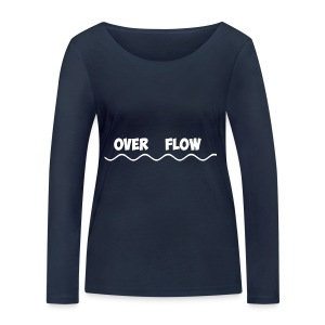 Over Flow - Women's Organic Longsleeve Shirt by Stanley & Stella