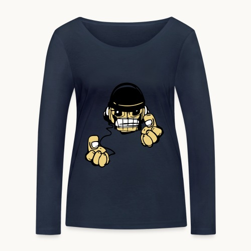 Micky DJ - T-shirt manches longues bio Stanley & Stella Femme