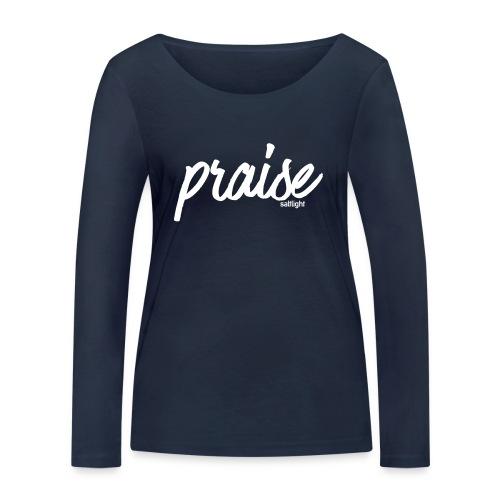 Praise (WHITE) - Women's Organic Longsleeve Shirt by Stanley & Stella