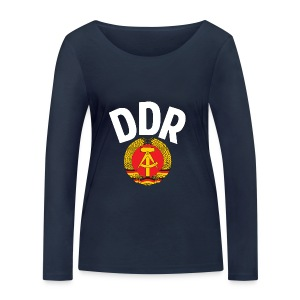 DDR - German Democratic Republic - Est Germany - Frauen Bio-Langarmshirt von Stanley & Stella