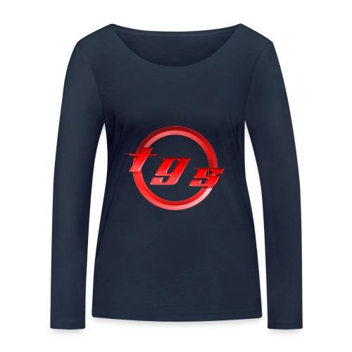 Logo-nl-be - Vrouwen bio shirt met lange mouwen van Stanley & Stella