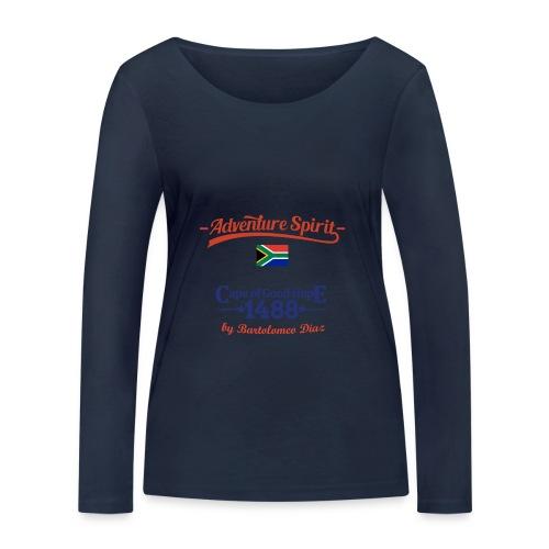 Adventure Spirit South Africa 1488 - Frauen Bio-Langarmshirt von Stanley & Stella