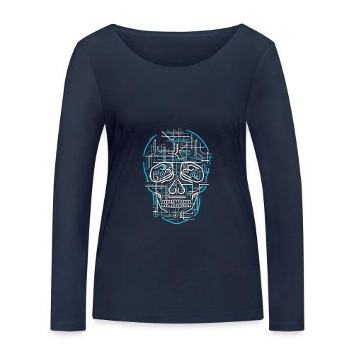 electric skull tshirt ✅ - Frauen Bio-Langarmshirt von Stanley & Stella