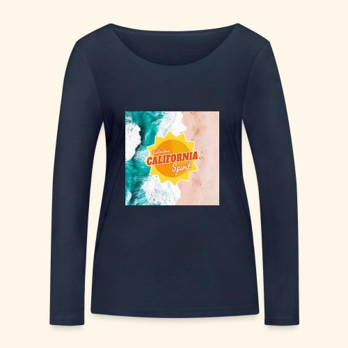 California Spirit Surfin - T-shirt manches longues bio Stanley & Stella Femme