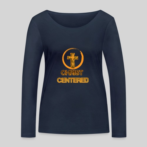 Christ Centered Focus on Jesus - Frauen Bio-Langarmshirt von Stanley & Stella