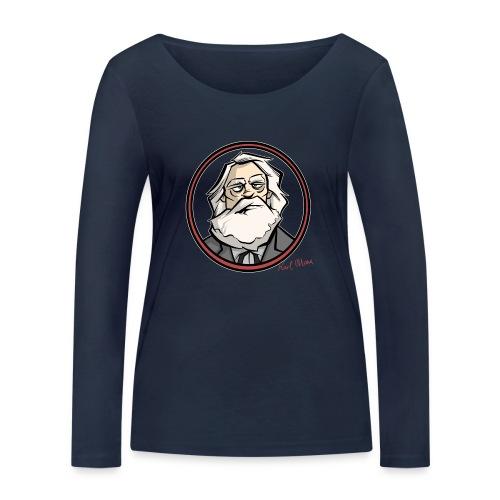 Karl Marx - Frauen Bio-Langarmshirt von Stanley & Stella