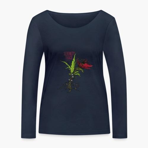 Serenity Trace - Jamais Vu Cover - Økologisk langermet T-skjorte for kvinner fra Stanley & Stella
